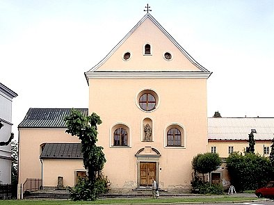 Kostel svatého Josefa.