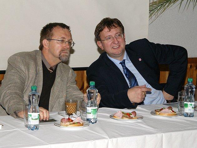 Radko Martínek (vlevo) a Ivo Toman.