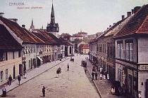 Kateřinské předměstí před rokem 1920.
