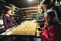 Vánoční výstava na Veselém Kopci.