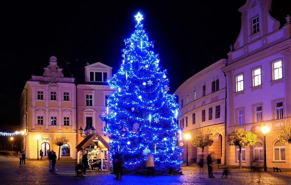 Vánoční strom - Chrudim