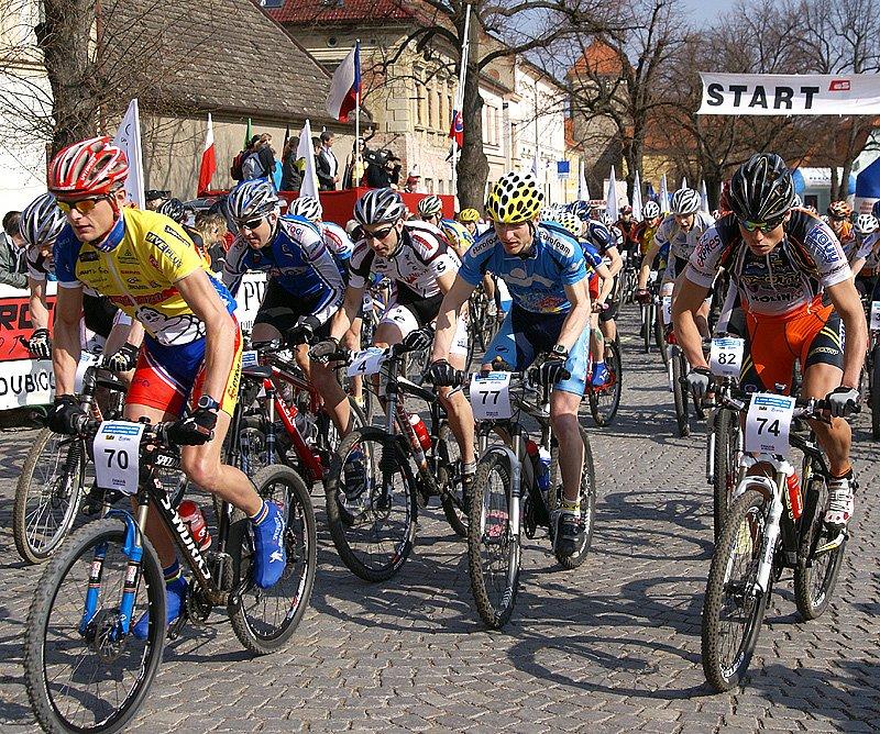 Sedmdesát bikerů vyrazilo na trať již třetího ročníku Ceny Nasavrk MTB.