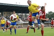 Ve fotbalové divizi C doma podlehli fotbalisté AFK Chrudim nováčkovi soutěže ze Živanic 0:2.