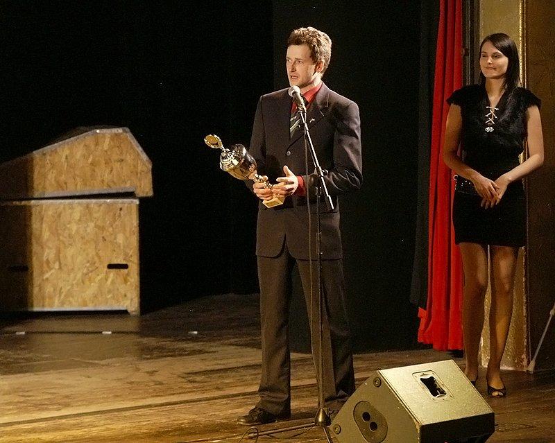 Z předávání cen Nejúspěšnější sportovec Chrudimska za rok 2008.