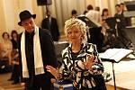 Jako hosté večera vystoupili Eva Hrušková a Jan Přeučil.