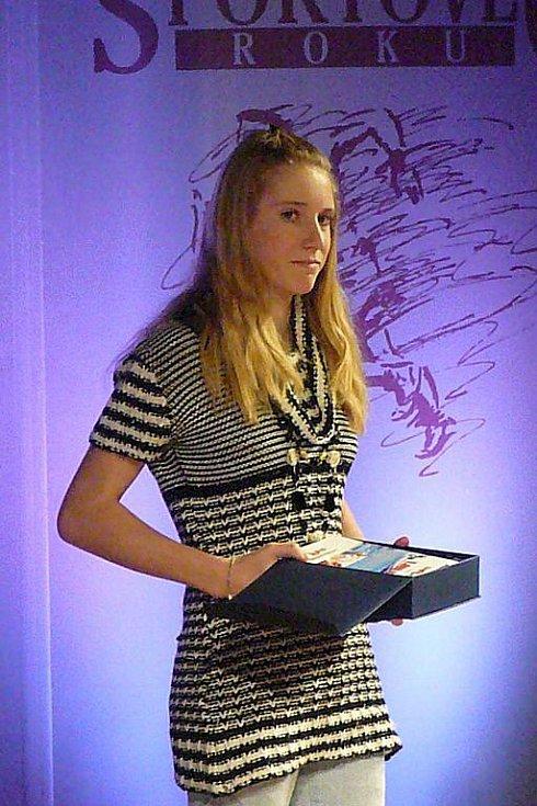 Hvězdou Deníku se podle hlasování čtenářů stala Anna Tkadlecová.