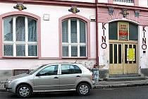 Městské kino v Chrudimi.