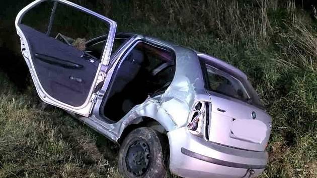 Dopravní nehoda u obce Perálec