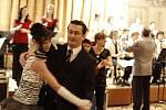 Výborných tanečníků bylo na plese značné množství.