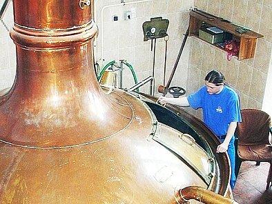 Várna hlineckého pivovaru Rychtář.