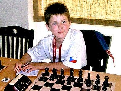 Šachista Jakub Půlpán.