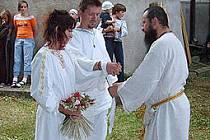 Svatba podle keltských tradic.