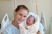 JAN KRAMAŘÍK (4,26 kg a 54 cm) patří od 24.8. od 7:43 do rodiny Jana a Lucie zChrudimi a jejich Andrejky (5 let).