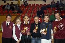 Drink roku ochutnali i hráči finále vánočního turnaje Bohemia - Rychtář CUP 2011.