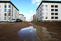"""Vznikající ulice v lokalitě za nemocnicí se nyní jmenuje """"Na Špici""""."""