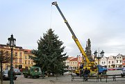 Do výzdoby náměstí investovalo Hlinsko sto tisíc korun