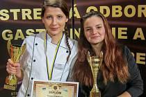Michaela a Tereza získaly dva zlaté poháry