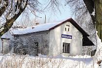 Vlakové nádraží v Krouně.