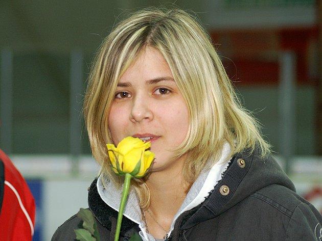 Hokejová brankářka juniorské reprezentace Kateřina Bečevová skončila třetí v kategorii jednotlivců mládeže.