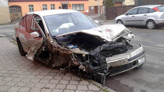 Nehoda v Ronově nad Doubravou