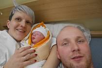Julie Poláčková (3,36 kg) se narodila 16.4. v ranních hodinách v havlíčkobrodské nemocnici rodičům Štěpánce Bonaventurové a Martinu Poláčkovi z Hlinska. Doma se na ni těšila dvouletá sestřička Amálie.