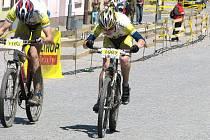 Z cyklistických závodl Author Cyklomaštale 2009 v Proseči.