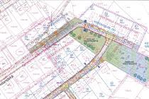 Mapa nabízených pozemků