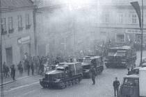 Okupační vojska v Hlinsku.