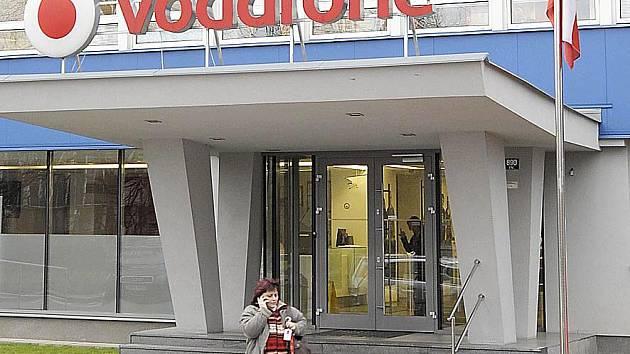 Call centrum mobilního operátora Vodafone v Chrudimi.