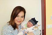 ŠIMON KUDLÁČEK (4,03 kg a 52 cm) je od 28.2. od 8:31 jméno prvního miminka Nicoly a Lukáše z Chrudimi.