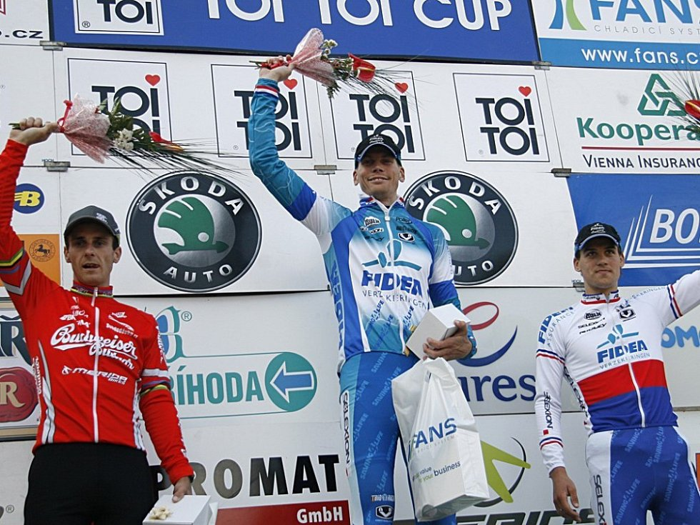 Momentky z 2. závodu cyklokrosového TOI TOI Cupu z Hlinska