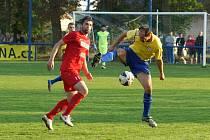 Předehrávané utkání 17. kola ČFL  Převýšov - MFK Chrudim 1:1, na penalty 5:3.