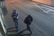 Policie pátrá po vandalech, kteří v noci ze 7. na 8. ledna řádili v Hlinsku.