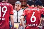 Trenér Felipe Conde (uprostřed) již chystá svůj tým na předkolo Ligy mistrů.