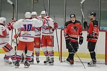 Hokejisté Hlinska slavili v prvním derby letošního roku hned šestkrát.