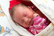 Elenka Felklová (2,96 kg a 49 cm) se narodila 15.5. v 18:33 Davidovi a Růženě z Chrasti