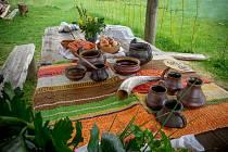 Ve skanzenu se v sobotu a v neděli koná akce Keltská bašta.