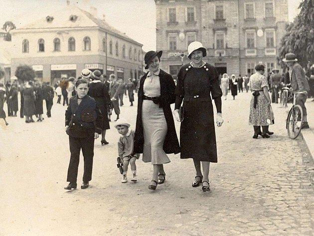 Takto vypadala Skuteč v roce 1934.