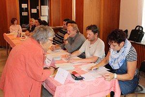 Volby 2017 v Chrudimi.