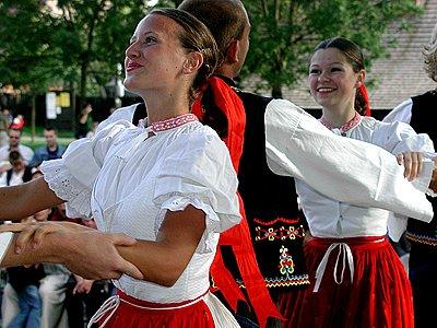 Adámkovy folklorní slavnosti v Hlinsku.