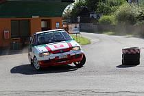 Rallye Železné hory - jízdy