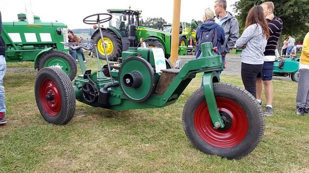 Železnohorský traktor 2017.