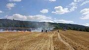 Požár pole