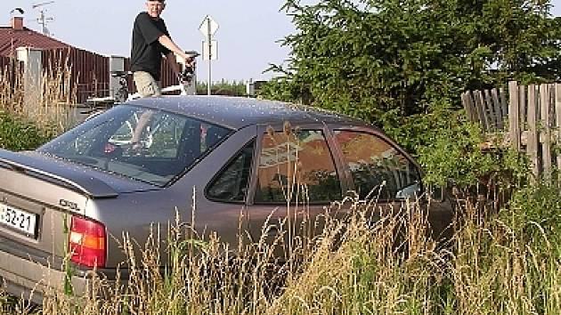 Nehoda opelu byla jednou ze šesti středečních havárií.