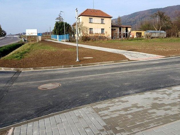 Třemošnice pokračuje svýstavbou nové ulice.