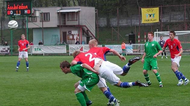 Česko dokázalo v Hlinsku porazit reprezentaci Irska.
