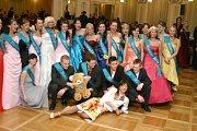 Maturitní ples Hotelové školy Bohemia.