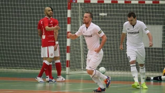 Z futsalového duelu Teplice - Chrudim (0:5).
