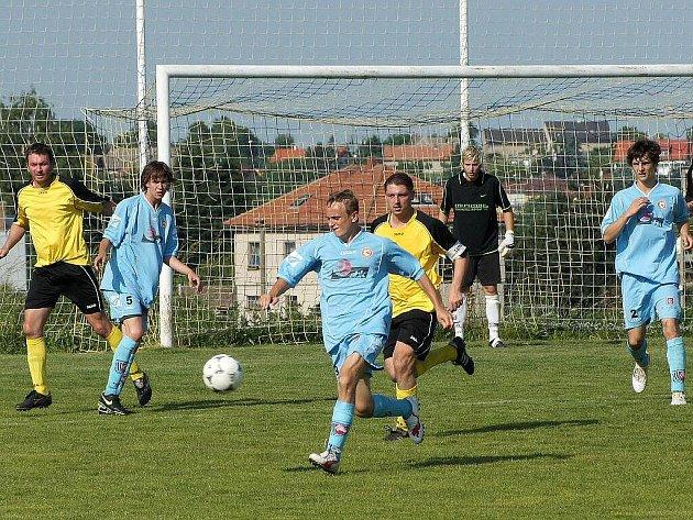 Ilustrační foto - Stolany proti FK Pardubice