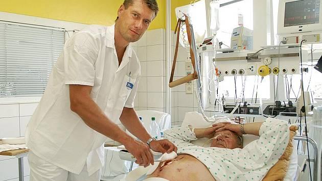 Ředitel chrudimské nemocnice Tomáš Vondráček.